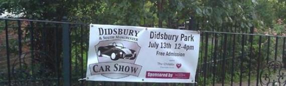 Didsbury Car Show Sunday July 13th